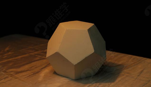 正六边形的透视讲解 六棱柱于圆柱体的关系 石膏质感解析 圆柱体