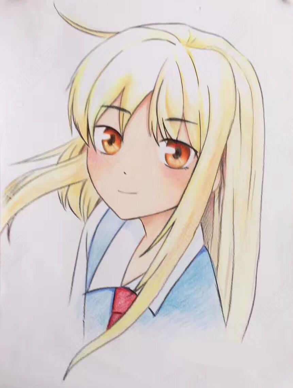 绘画培训  彩铅人物漫画         本课程主要是日式人物漫画头部彩铅