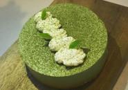 0添加---抹茶慕斯蛋糕 春天里的一抹绿-陈贞贞